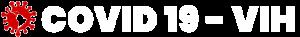 Logo covid-19 y vih