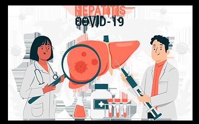 Covid 19 y hepatitis